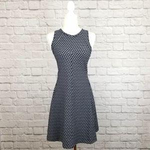 Lululemon &Go Til Dawn black white skater dress